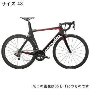 Cervelo (サーベロ)2018 S5 ULTEGRA R8000 11S ブラック/レッド 48(167-171cm)ロードバイク|crowngears