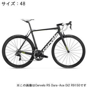 Cervelo (サーベロ) 2018モデル R5 ULTEGRA R8000 ブラック/グリーン サイズ48(167-171cm)ロードバイク|crowngears