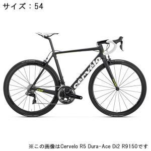 Cervelo (サーベロ) 2018モデル R5 ULTEGRA R8000 ブラック/グリーン サイズ54(175-180cm)ロードバイク|crowngears