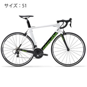 Cervelo (サーベロ) 2018モデル S2 105-5800 ホワイト サイズ51(170-175cm) ロードバイク|crowngears