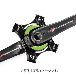 power2max (パワーツー マックス) TypeNG Campagnolo 2015 4アーム 175mm クランクセット|crowngears