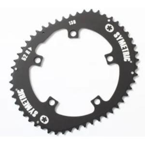 O.SYMETRIC(オーシンメトリック) チェーンリング スタンダード 52T PCD130 ブラック crowngears