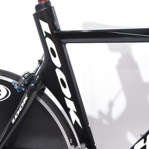 LOOK (ルック) 2007モデル 496 TRI RED 10S サイズS TTバイク ロードバイク|crowngears|06