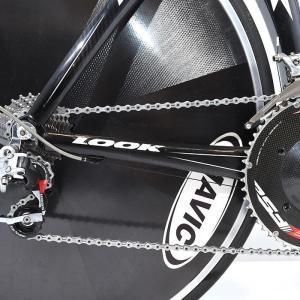 LOOK (ルック) 2007モデル 496 TRI RED 10S サイズS TTバイク ロードバイク|crowngears|09
