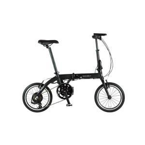 TRANS MOBILLY(トランスモバイリー) ULTRA LIGHT ウルトラライト E-BIKE AL-FDB166E ブラック 16インチ 折畳 電動自転車 crowngears
