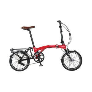 HARRY QUINN(ハリークイーン) PORTABLE E-BIKE AL-FDB160E レッド 折畳 電動自転車 crowngears