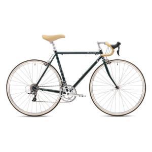 FUJI (フジ) 2019モデル BALLAD R ブリティッシュグリーン サイズ56 (177.5-182.5cm) ロードバイク|crowngears