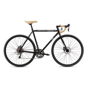 FUJI (フジ) 2019モデル FEATHER CX+ スペースブラック サイズ49 (169-174cm) ロードバイク|crowngears