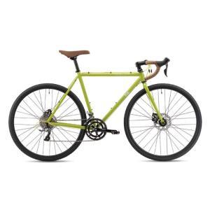 FUJI (フジ) 2019モデル FEATHER CX+ ブラウズグリーン サイズ56 (177.5-182.5cm) ロードバイク|crowngears