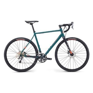 FUJI (フジ) 2019モデル JARI 1.5 マットディープグリーン サイズ49 (168-173cm) ロードバイク|crowngears