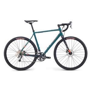FUJI (フジ) 2019モデル JARI 1.5 マットディープグリーン サイズ52 (171-176cm) ロードバイク|crowngears