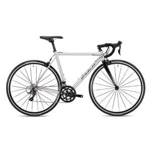 FUJI (フジ) 2019モデル NAOMI ブラッシュド アルミニウム サイズ46 (163-168cm) ロードバイク|crowngears