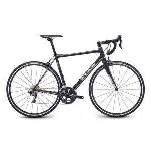 FUJI (フジ) 2019モデル ROUBAIX 1.1 マットブラック/クローム サイズ52 (170-175cm) ロードバイク|crowngears