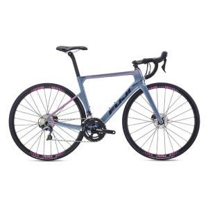 FUJI (フジ) 2019モデル SUPREME 2.3 マットストームシルバー サイズ47 (164-169cm) ロードバイク|crowngears