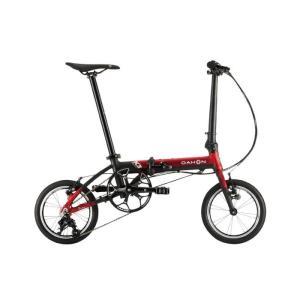 DAHON (ダホン) 2019モデル K3 レッド/マットブラック 折りたたみ自転車|crowngears