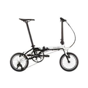 DAHON (ダホン) 2019モデル K3 ホワイト/ブラック 折りたたみ自転車|crowngears