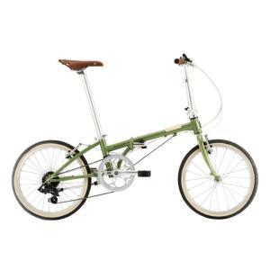 DAHON (ダホン) 2019モデル Boardwalk D7 グリーンティー 折りたたみ自転車|crowngears