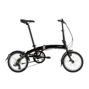 DAHON (ダホン) 2019モデル Curve D7 オブシディアンブラック 折りたたみ自転車|crowngears