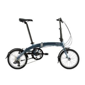 DAHON (ダホン) 2019モデル Curve D7 スティールグレー 折りたたみ自転車|crowngears