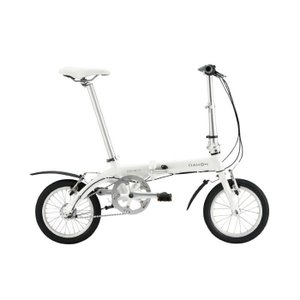DAHON (ダホン) 2019モデル Dove i3 パールホワイト 折りたたみ自転車|crowngears
