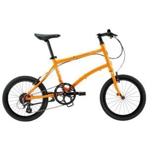 DAHON (ダホン) 2019モデル Dash P8 タンジェリン 折りたたみ自転車|crowngears