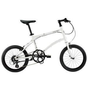DAHON (ダホン) 2019モデル Dash P8 フロスティホワイト 折りたたみ自転車|crowngears