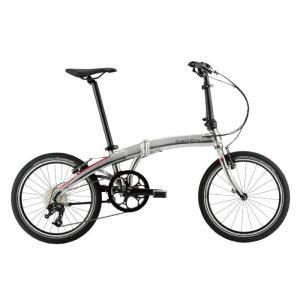 DAHON (ダホン) 2019モデル Mu D9 クイックシルバー 折りたたみ自転車|crowngears
