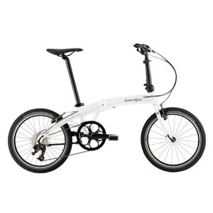 DAHON (ダホン) 2019モデル Mu D9 アイスホワイト 折りたたみ自転車|crowngears