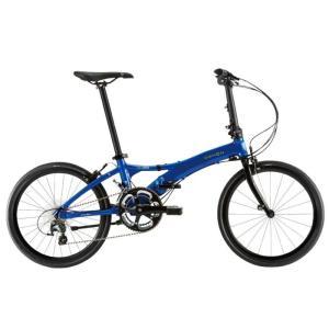 DAHON (ダホン) 2019モデル Visc EVO エナメルブルー 折りたたみ自転車|crowngears