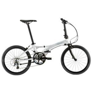 DAHON (ダホン) 2019モデル Visc EVO ブライトシルバー 折りたたみ自転車|crowngears