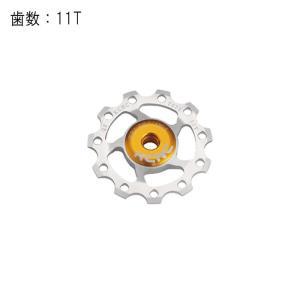 KCNC (ケーシーエヌシー) ジョッキーホイール 11T 11/10/9S対応 シルバー プーリー crowngears
