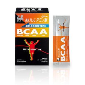 glico(グリコ) おいしいアミノ酸 BCAA グレープフルーツ風味 4.4g 10本|crowngears