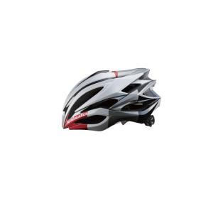 OGK (オージーケー) ZENARD-EX ゼナード ホワイトレッド サイズS/M ヘルメット crowngears