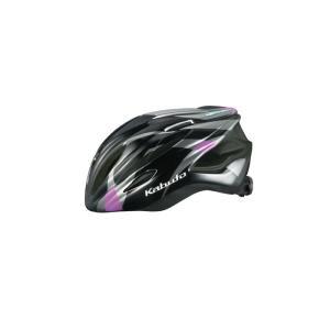 OGK (オージーケー) FIGO フィーゴ レディース モーブグレーズ サイズS/M スリム ヘルメット crowngears