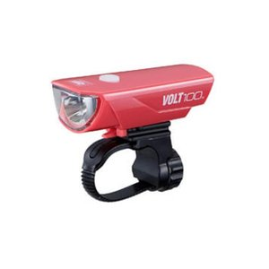CAT EYE (キャットアイ) HL-EL150RC ピンク VOLT100(充電モデル) フロント用 ライト 【ライト】【ロードバイク】|crowngears