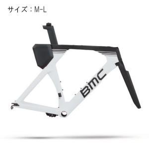 BMC  (ビーエムシー) 2019モデル Timemachine 02 ホワイト サイズM-L フレームセット|crowngears