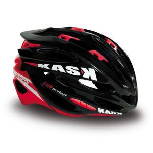 KASK (カスク) VERTIGO ヴァーティゴ ブラック / レッド Mサイズ【ヘルメット】 【自転車】|crowngears