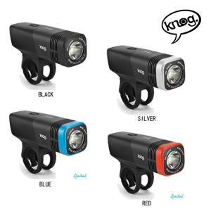 KNOG (ノグ)Blinder ARC 5.5 FRONT ブラインダー ARC 5.5 フロント ライト  シルバー 【ライト】|crowngears