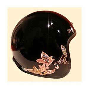 ヘルメット オートクチュールジェットヘルメット/CROW(クロウ)バイク用/レディース|crowracing2