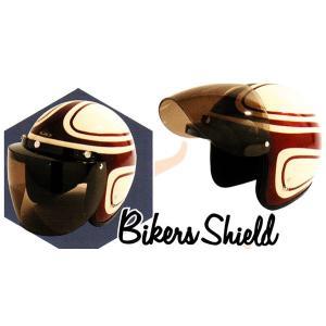 シールド ヘルメット 開閉 ジェット バイク バイカーズシールド TNK/バイク ジェットヘルメット用シールド|crowracing2