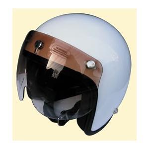 シールド ヘルメット ジェット バイク グラデーションマッハシールド/DAMMTRAX(ダムトラックス)バイクヘルメット用|crowracing2
