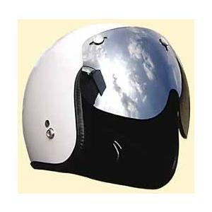 シールド ヘルメット ジェット バイク ミラーマッハシールド/DAMMTRAX(ダムトラックス)バイクヘルメット用|crowracing2