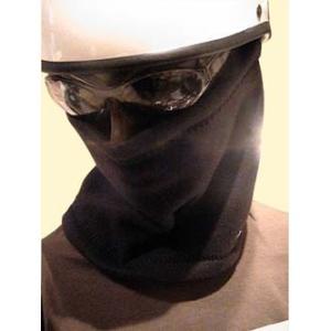 ネックウォーマー フェイスマスク フリースネックウォーマー CROW クロウ バイク用 マスク バイク フリース|crowracing2