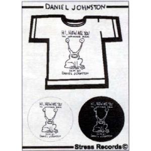 DANIEL JOHNSTON ダニエル・ジョンストン ステッカー / ステッカー デカール シール ヘルメット バイク 車 携帯電話 スーツケース 通販 キャラクター ロゴ 文字 crowracing2