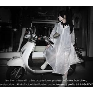 レインコート レインポンチョ サイクルレインコート ドット フリーサイズ カッパ 雨具 自転車 バイク 通勤 通学 女性 男性 レディース メンズ  かわいい お洒落|crowracing2