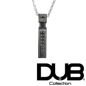 DUB Collection j156-2 ブラック ネックレス メンズ レディース ダブジュエリー...
