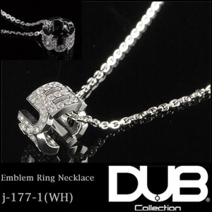 DUB Collection ネックレス Emblem Ring Necklace j-177-1 ...