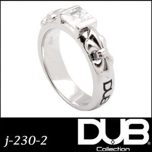 DUB Collection j-230-2(WH) Crest of the Lily Ring ...