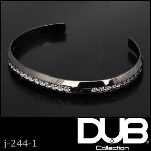 DUB Collection j-244-1 Bicolor Bangle ユニセックス メンズ レ...