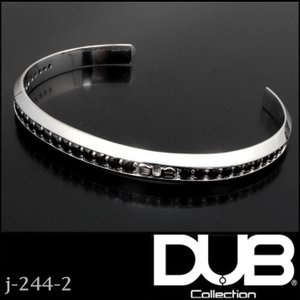 DUB Collection j-244-2 Bicolor Bangle ユニセックス メンズ レ...